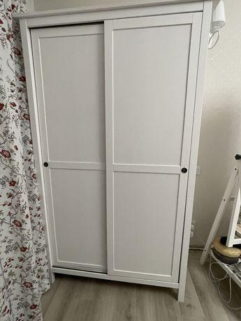 шкаф ИКЕА ХЕМНЭС, 502.512.70 Гардероб с 2 раздвижными дверцами