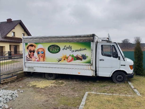 Rama pod zabudowę sprzedam mercedes 410 food track SAMOCHOD