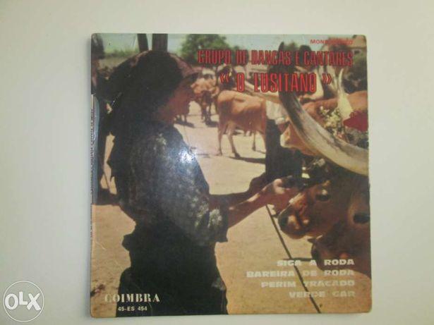 Vinil , Discos EP Grupo de danças e cantares o Lusitano
