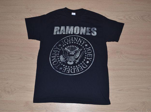 футболка Ramones iron maiden the rolling stones metallica
