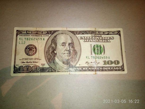 Продам обмен 100$ Сша