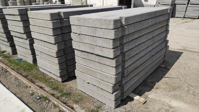 Płyty drogowe betonowe 300x100x15cm nowe z dostawą W-wa, m2