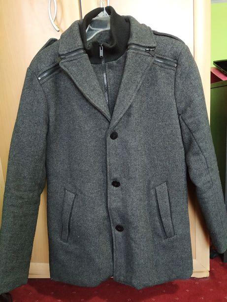 Płaszcz męski bardzo ciepły