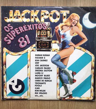 "Jackpot ""Os Superêxitos 81"" vinil"