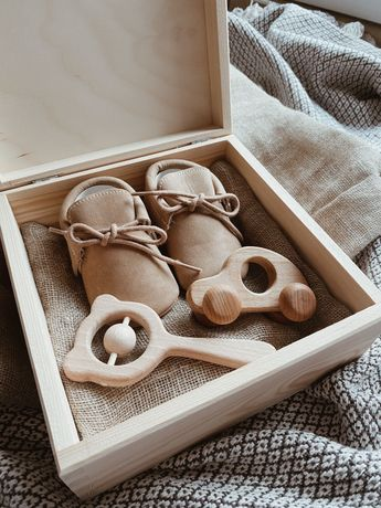 Baby box dla chłopca chrzciny baby shower narodziny