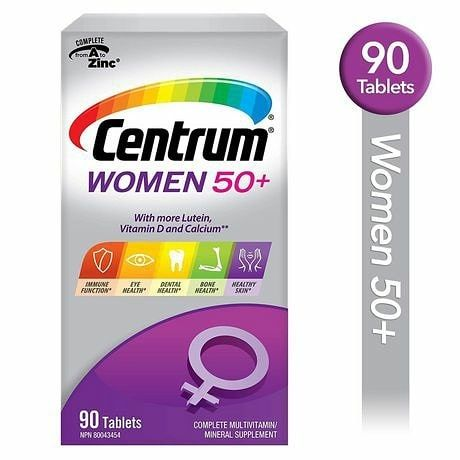 Комплекс вітамінів для жінок 50+ з Канади