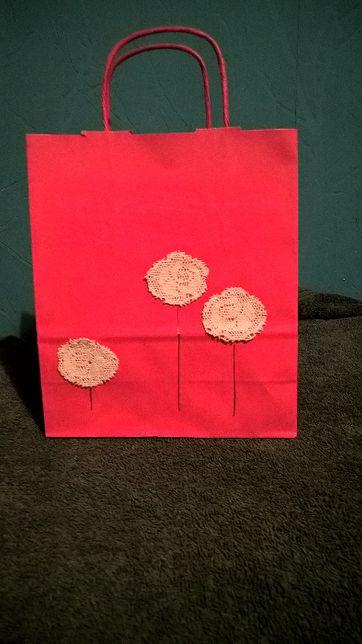 Ekologiczne torebki prezentowe hendmade