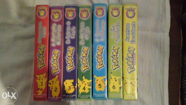 Pokemon Cassetes VHS