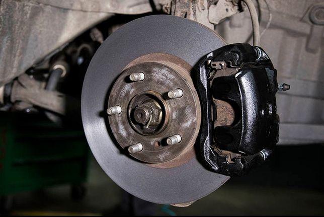 Проточка, замена, ремонт тормозных дисков. Гарантия 6 месяцев!