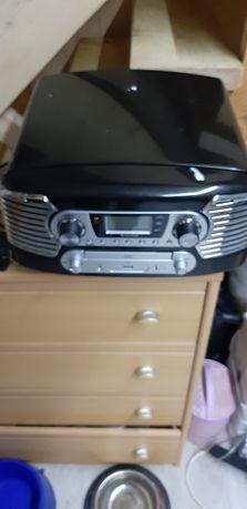 Radio, gramofon, CD Auna
