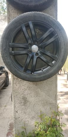Диски с резиной Audi q7