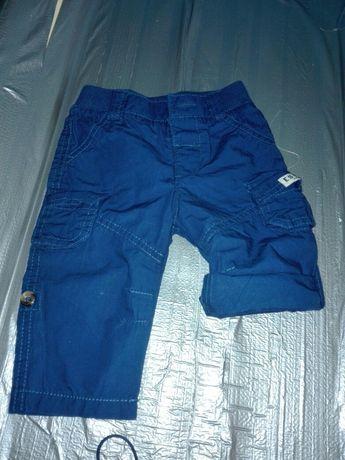 Nowe spodnie spodenki 62