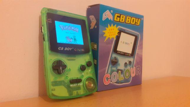 GB BOY COLOUR - sprzętowy klon Nintendo Game Boy, z usprawnieniami!