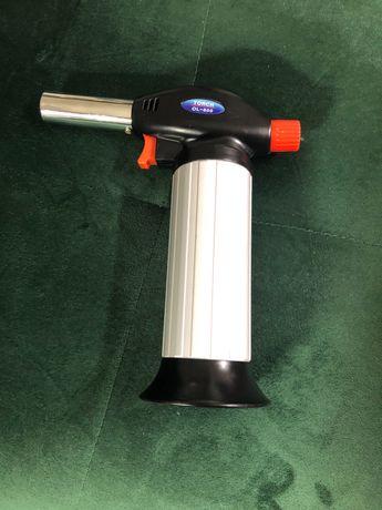 Газовая горелка новая туристическая Torch OL-600 с баллоном