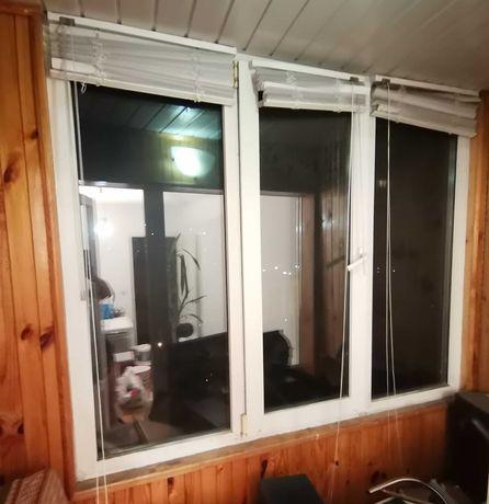 Окно балконный блок Rehau