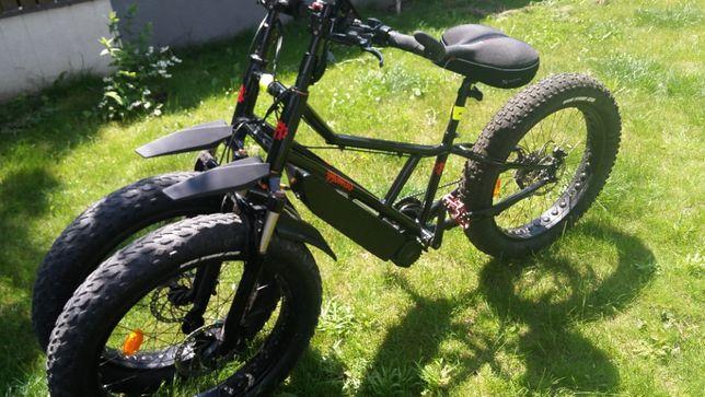 rower trójkołowy fatbike Rungu Juggernaut - elektryczny