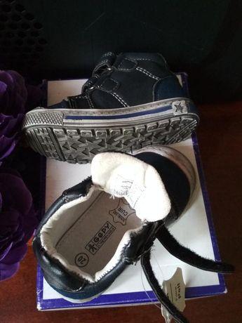 Новые детские кожаные кеды / хайтопы/ ботиночки gepy