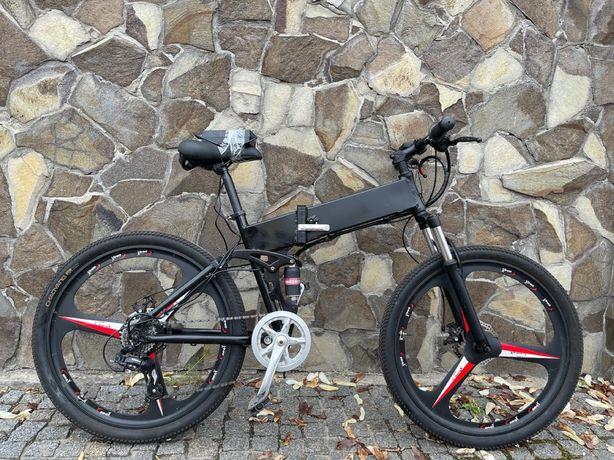 Електро велосипед Двухподвес E-bike
