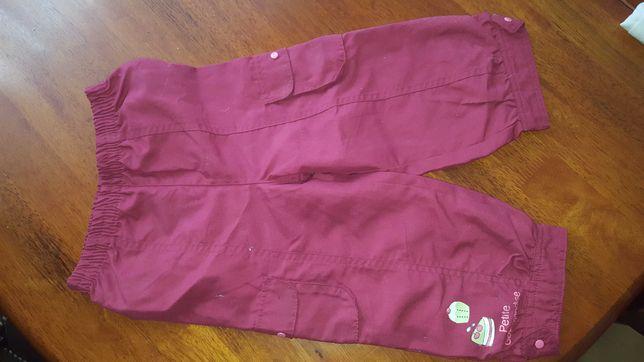 Spodnie z podszewka na 23m.
