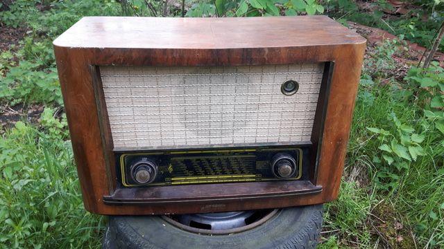 Radio lampowe stare kolekjonerskie