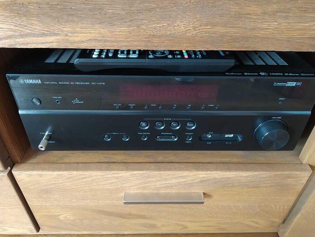 Amplituner Yamaha z zestawem głośników
