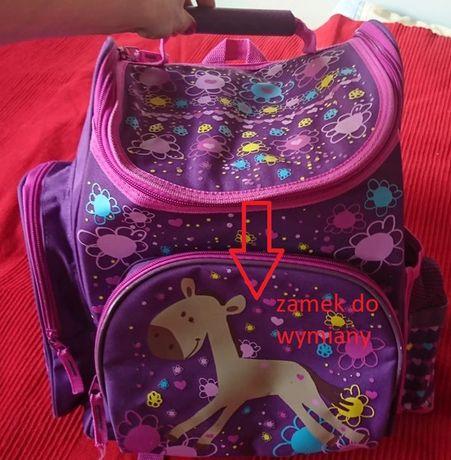 Używany tornister do szkoły, plecak