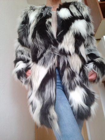 kurtka kożuszek damski S nowy