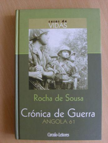 Crónica de Guerra - Angola 61 de Rocha de Sousa