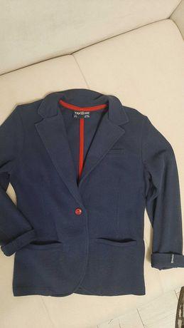 Пиджак трикотажный на мальчика 10-11 лет