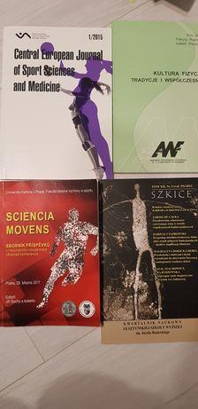 Wychowanie fizyczne publikacje do prac magisterskich po pl, ang i cz