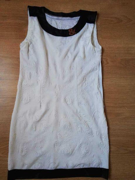 Tunika biała sukienka 38