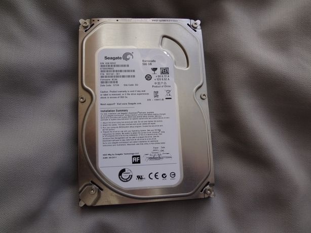Disco Seagate HDD de 500 gigas NOVO