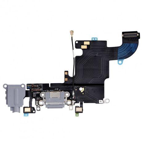 Нижний шлейф на iPhone 5 5s 6 6S 7 7plus разъемом зарядки и Микрофоном