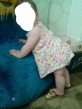 Продам платье на девочку 4-6 месяцев