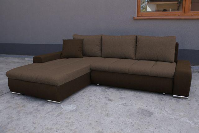 Narożnik z funkcja spania Porto Mini Kanapa Sofa rogówka