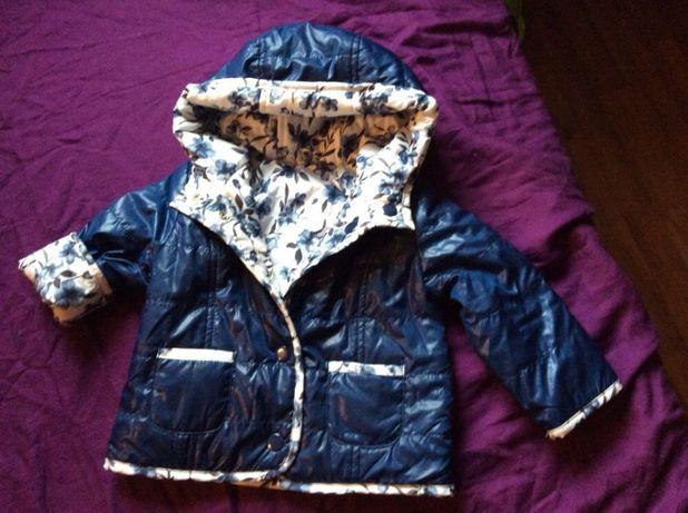 Продам демисезонную итальянскую куртку 6-12месяцев