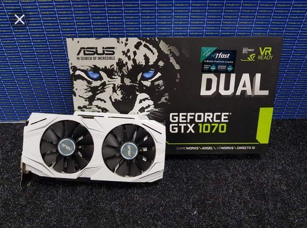 Відеокарта Asus Dual GTX 1070 8gb