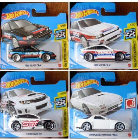 Hot wheels (compra minima de 2 miniaturas)