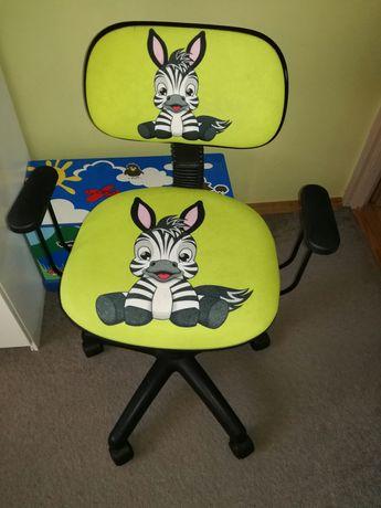 Fotel obrotowy dla dziecka
