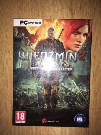 Gra Wiedźmin 2 Zabójcy Królów Nowa Folia PC PL WYSYŁKA ZA 1zł!!