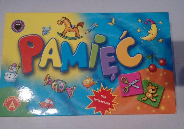 Gra edukacyjna 4+ pamięć dzień dziecka urodziny gry zabawka zabawki