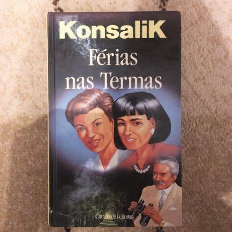 Livro - Férias Nas Termas - Konsalik, 1994 Círculo De Leitores