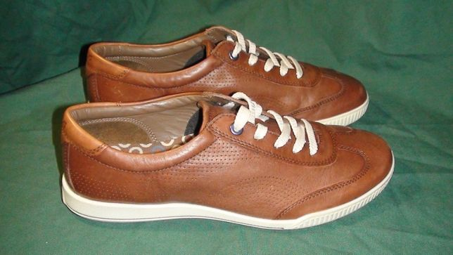 Ecco - шкіряні кросівки, кеди