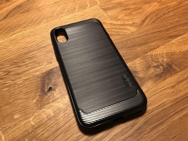 Capa Ringke Onyx preta para Apple iPhone XS, de silicone/borracha