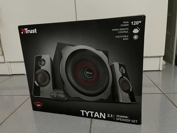 Colunas 2.1 TRUST GXT 38 Tytan (PC e Consolas - 120 W)
