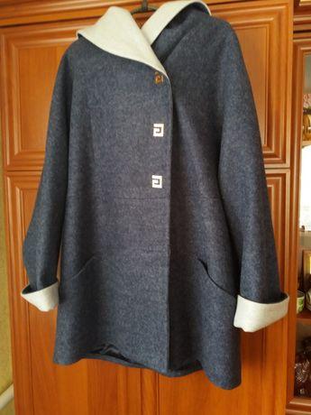 Пальто на весну - осень женское 52 размер