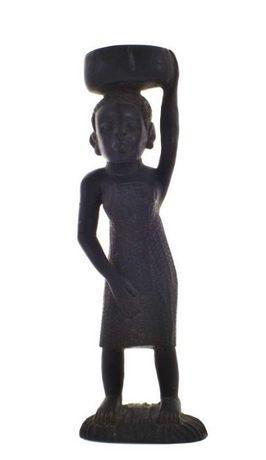 Escultura africana em Pau Preto