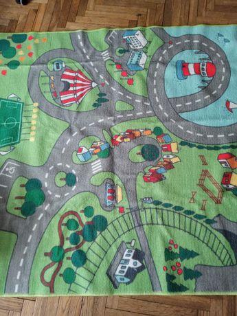 Dywan dla dzieci miasto