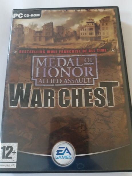 Gra PC Medal of Honor War chest trylogia