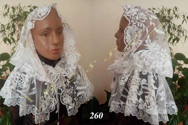См.все фото. Палантин церковный платок, накидка в храм для венчания
